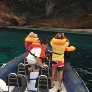 Passeio de Barco à volta da Ilha Graciosa